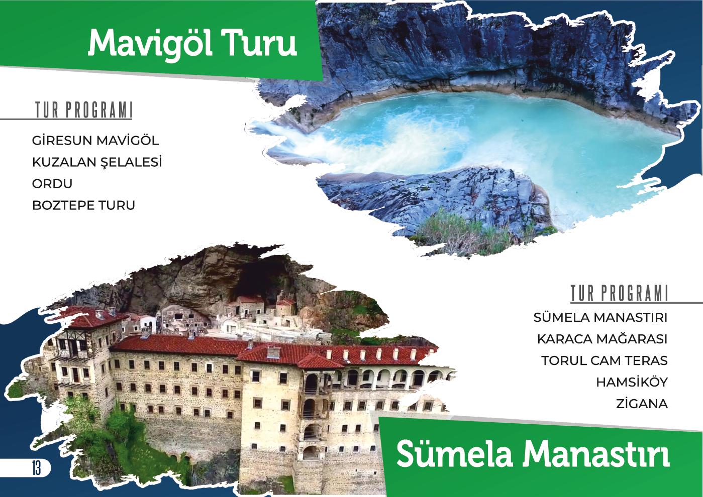 Mavigöl / Sümela Manastırı