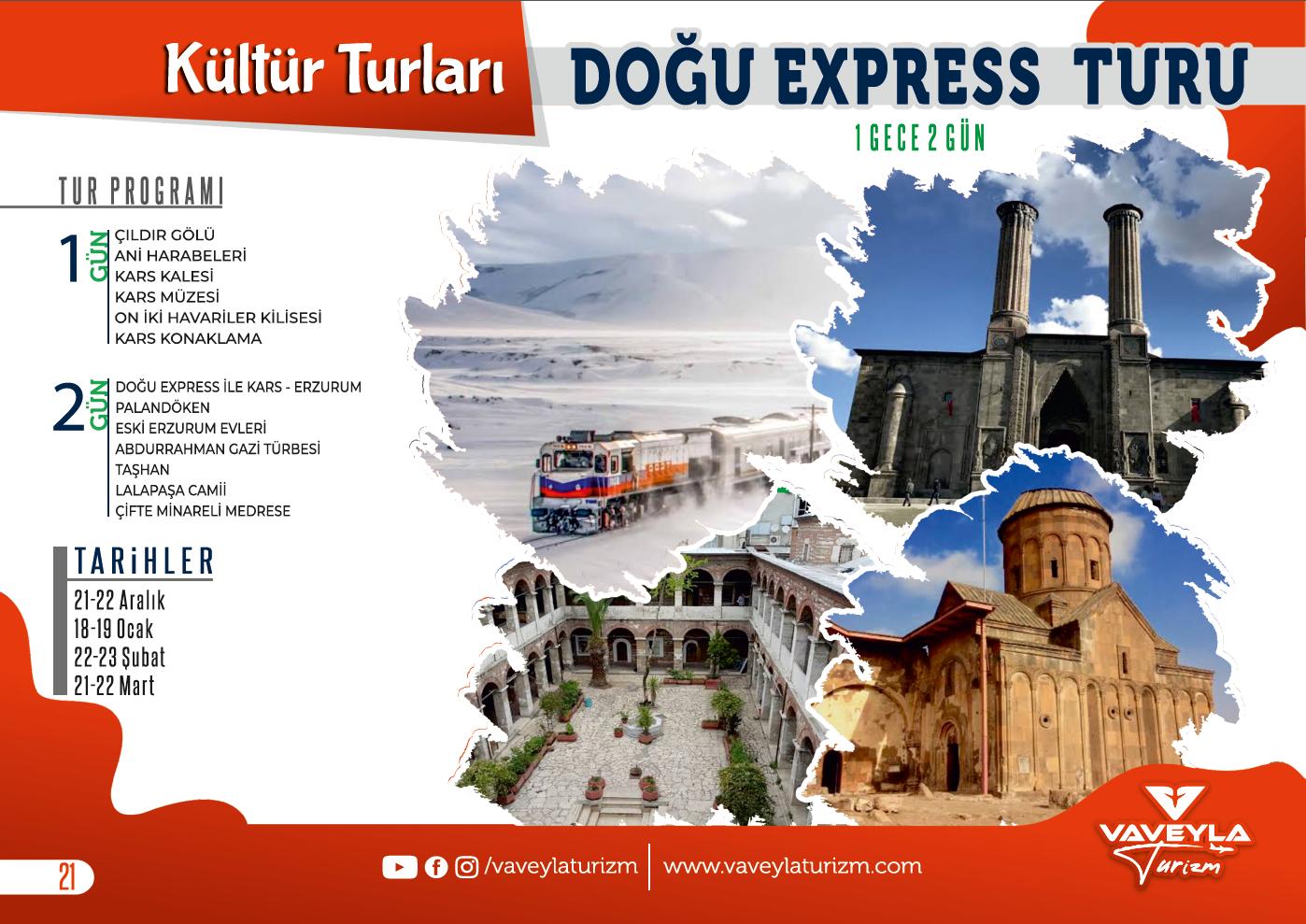 Doğu Express Turu