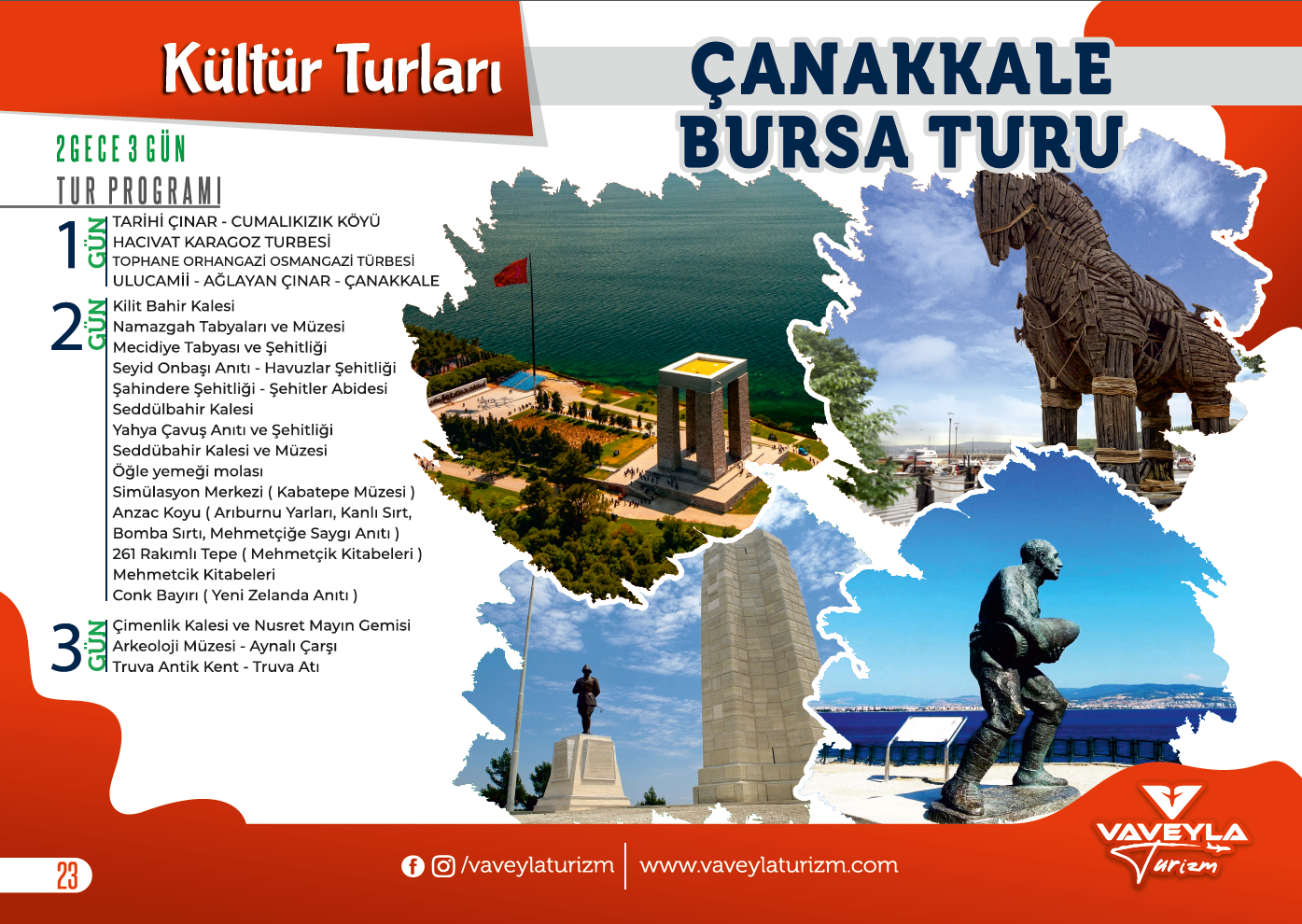 Çanakkale - Bursa Turu