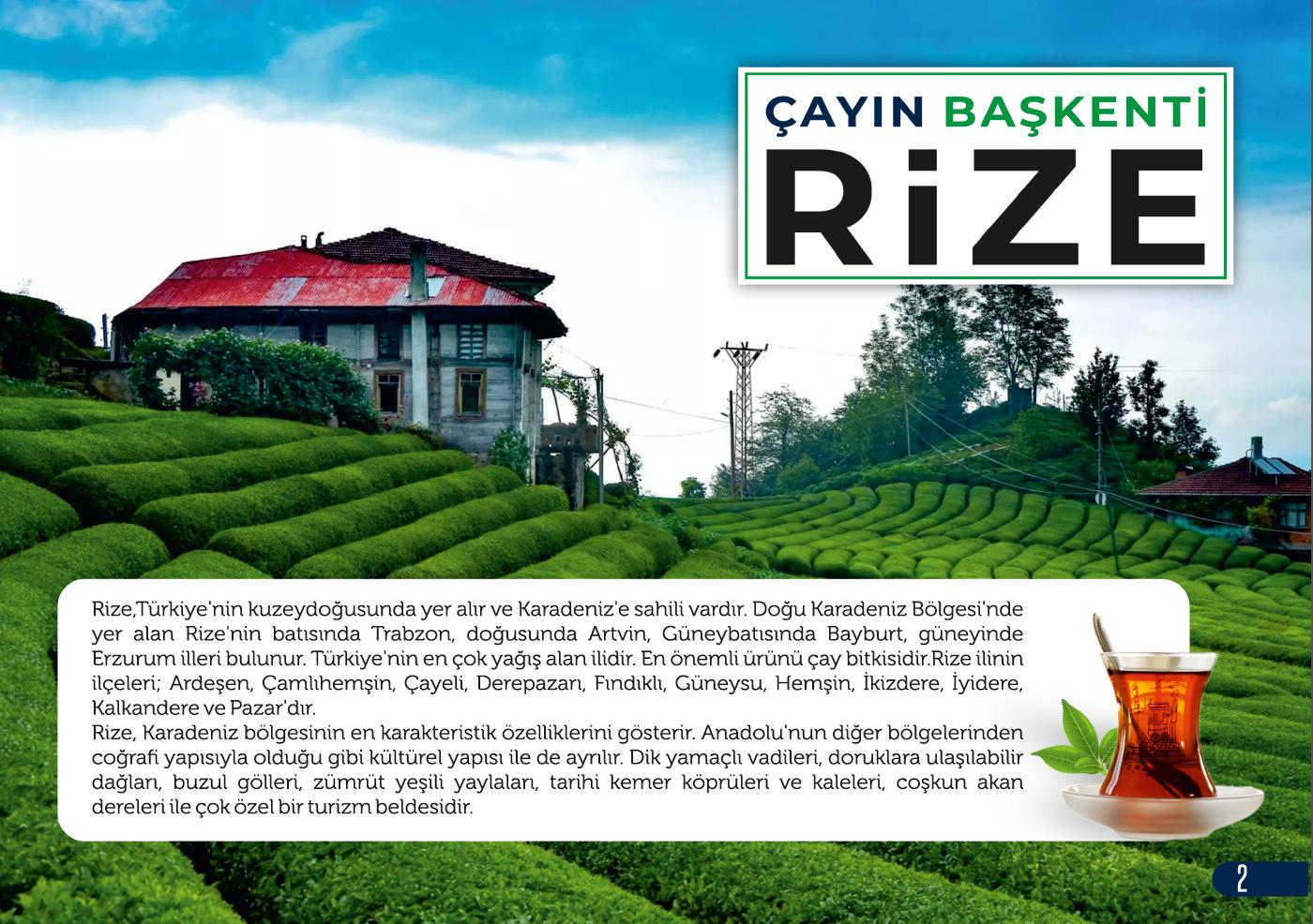 Çayın Başkenti Rize