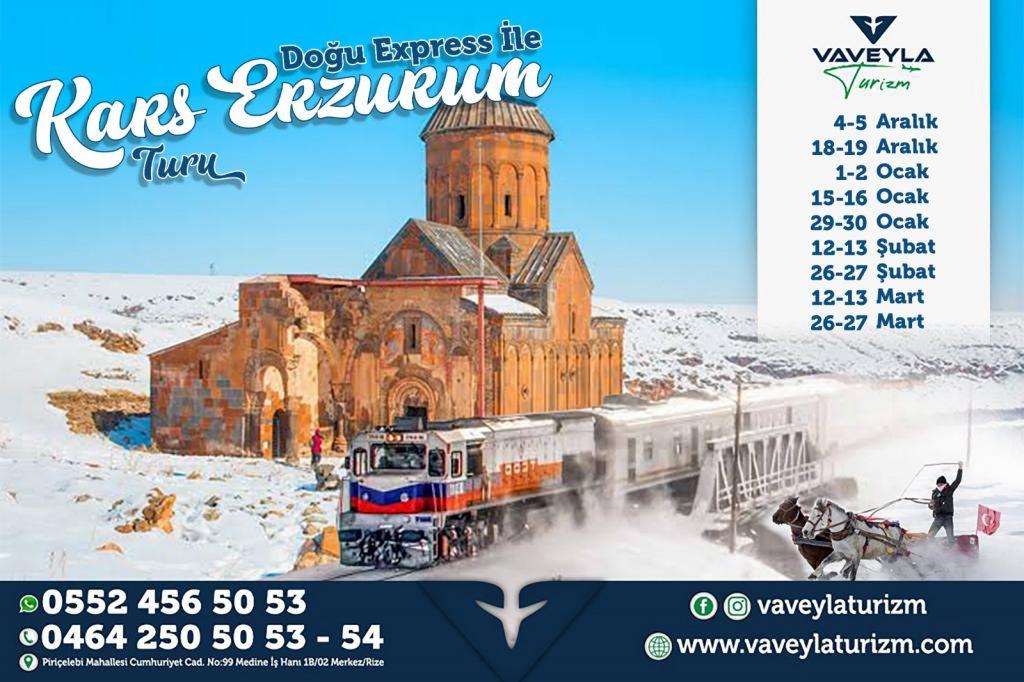 Rize Trabzon Cıkıslı Dogu Ekspres Turu